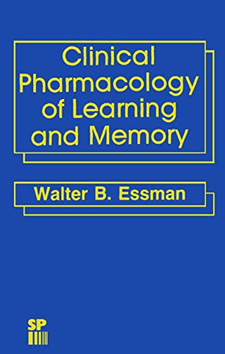 9780852006146: Clinical Pharmacology of Learning and Memory