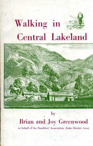 9780852061596: Walking in Central Lakeland