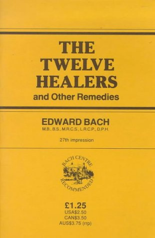 9780852070413: The Twelve Healers and Other Remedies