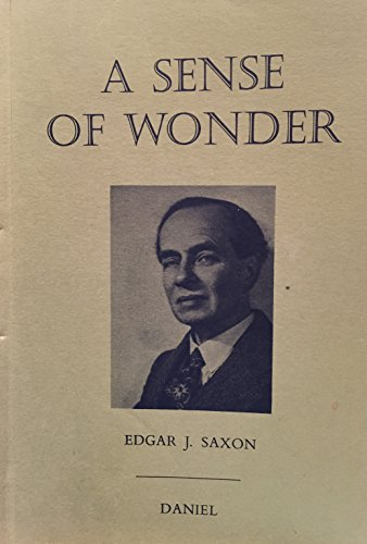 9780852071366: A Sense of Wonder
