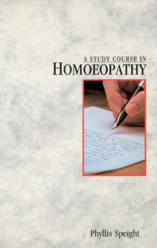 9780852072509: A Study Course in Homoeopathy