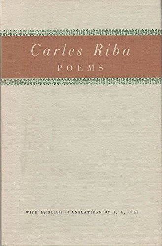 9780852150023: Poems (Catalan and English Edition)