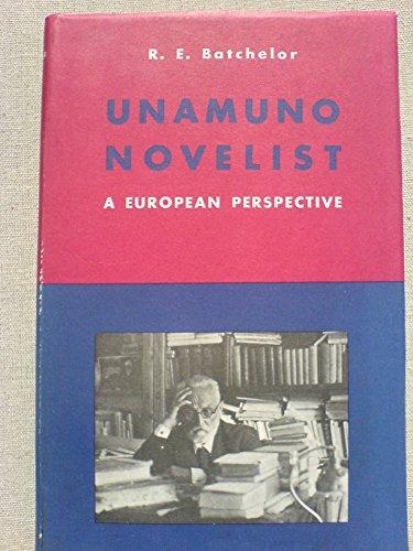 9780852150450: Unamuno Novelist: A European Perspective