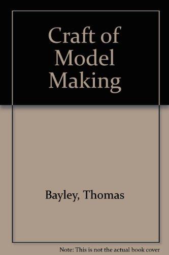 9780852190166: Craft of Model Making