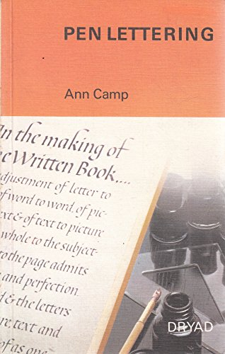 9780852191293: Pen Lettering - AbeBooks - Ann Camp: 0852191294