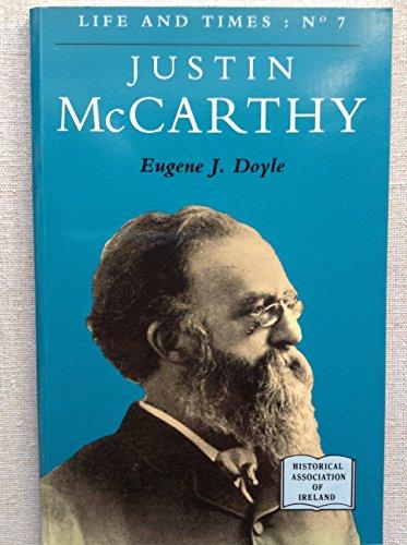 9780852211281: Justin McCarthy (Life & Times)