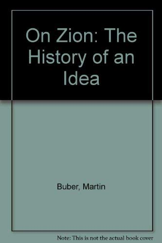 9780852222812: On Zion: The History of an Idea