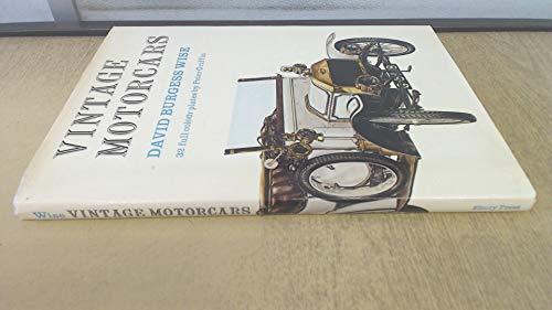 9780852230077: Vintage Motor Cars