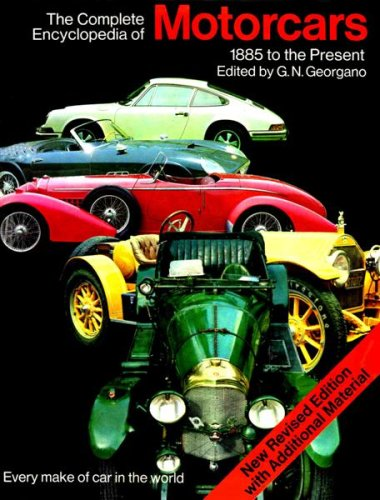 9780852230480: Complete Encyclopaedia of Motor Cars