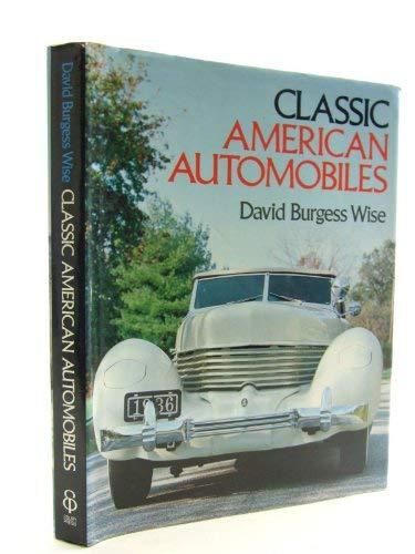 9780852231876: Classic American Automobiles