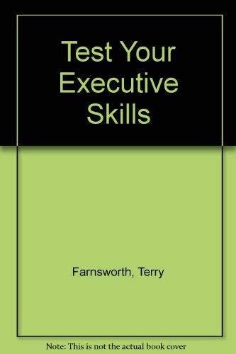 9780852236352: Test Your Executive Skills
