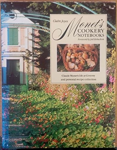 9780852238257: Monet's Cookery Notebooks