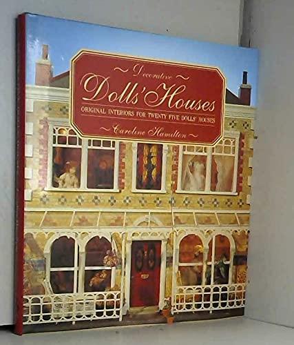 9780852238820: Decorative Dolls' Houses: Original Interiors for Twenty Five Dolls' Houses
