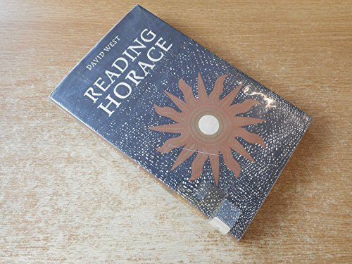 9780852241066: Reading Horace