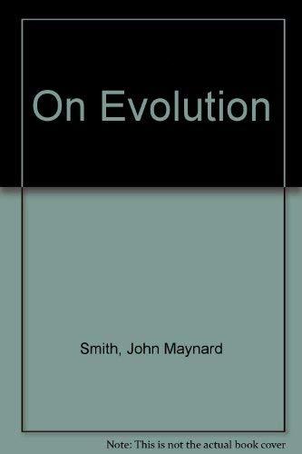9780852242292: On Evolution