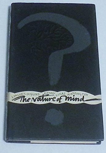 The Nature of Mind.: KENNY, Anthony John