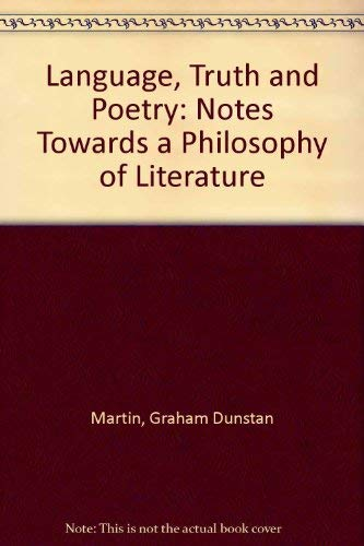 9780852242681: Language, Truth, and Poetry: Notes Towards a Philosophy of Literature