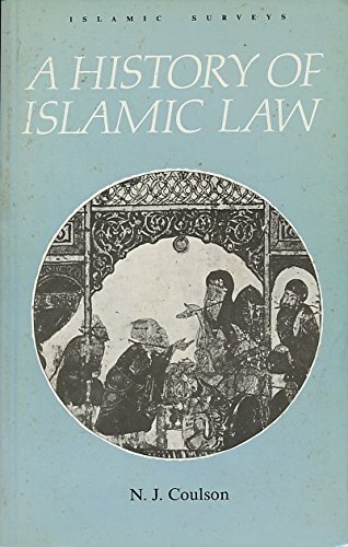 9780852243541: A History of Islamic Law (Islamic Surveys)