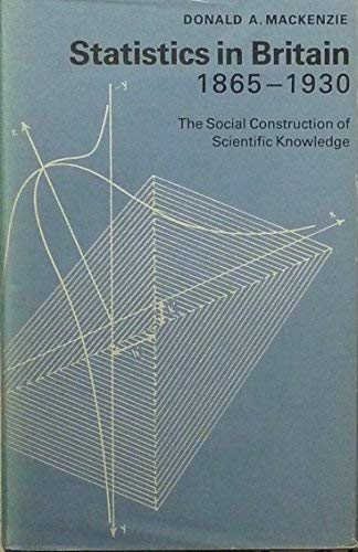 9780852243695: Statistics in Britain, 1865-1930: The Social Construction of Scientific Knowledge
