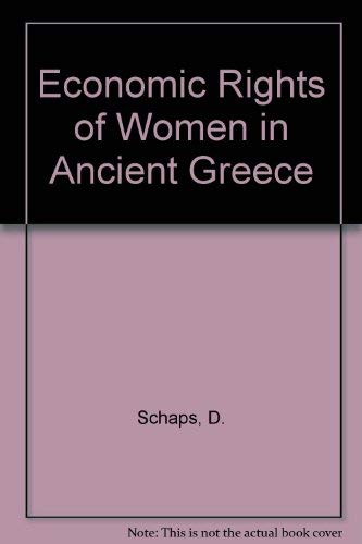 9780852244234: Economic Rights of Women in Ancient Greece