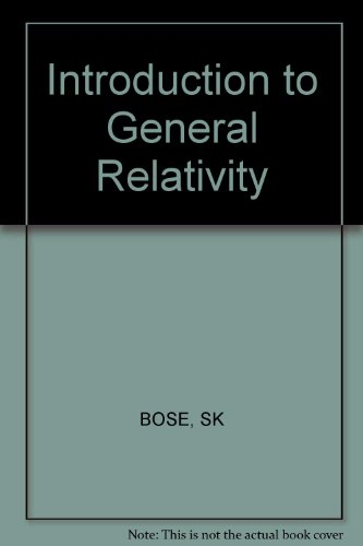 9780852260777: Introduction to General Relativity