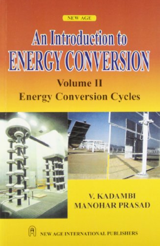 Energy Conversion Cycles: Manohar Prasad V.