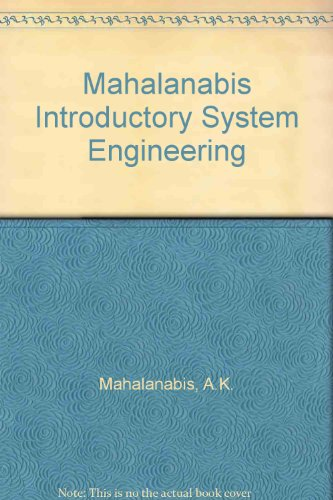 9780852265611: Mahalanabis Introductory System Engineering
