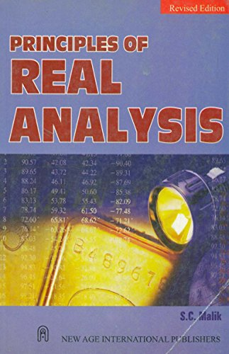 Principles of Real Analysis: Malik, S. C.