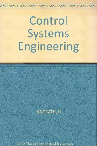 9780852266052: Nagrath Control Systems Engineering 2ed