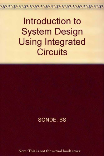 Sonde Introduction to System Design Using Integrated: Sonde, B.S.