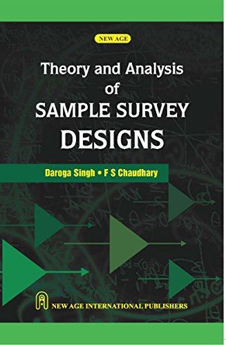9780852269107: Theory and Analysis of Sample Survey Design