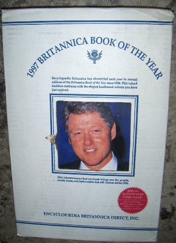 9780852296554: Britannica Book of the Year 1997