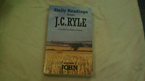 9780852342145: Daily Readings from J.C. Ryle (Matthew, Mark & Luke)