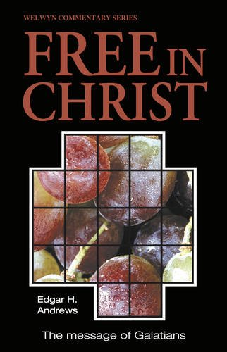 9780852343531: Free in Christ (Galatians) (Welwyn Commentary Series)