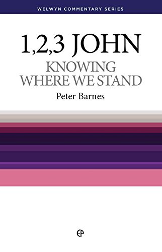 9780852344149: Knowing Where We Stand: The Message of John's Epistle (Welwyn commentaries)