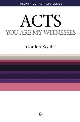9780852344613: Wcs Acts: You Are My Witnesses (Welwyn Commentary)