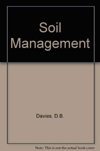 9780852361184: Soil Management