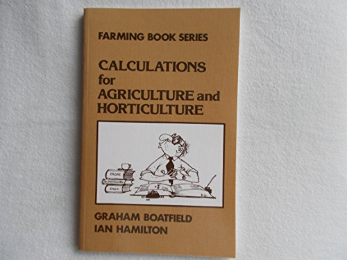Calculations for Agriculture and Horticulture