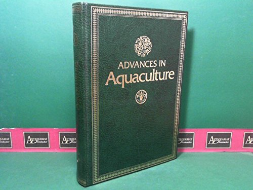 Advances in Aquaculture : Papers Presented at: Pillay, T.V.R. And