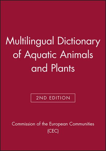 9780852382400: Multilingual Dictionary of Aquatic Animals and Plants (Fishing News Books)