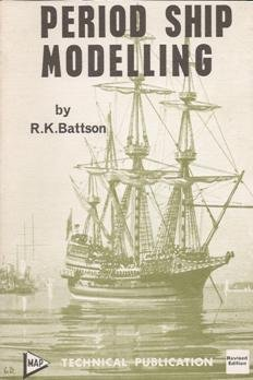 Period ship modelling : constructional notes