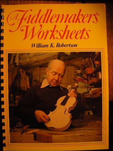 9780852428115: A Fiddlemaker's Worksheets