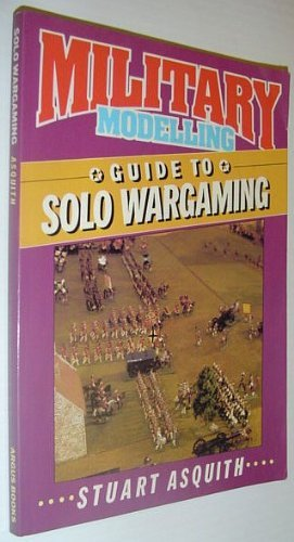9780852429341: MILITARY MODELLING: GUIDE TO SOLO WARGAMING.