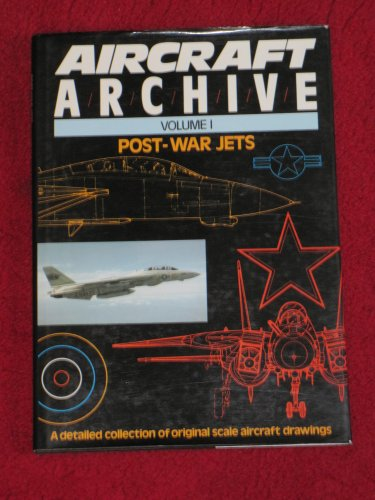 9780852429495: Aircraft Archive - Post War Jets - Volume 1 - a Detailed Collection of Original Scale Aircraft Drawings