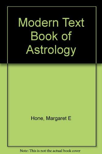 9780852430330: Modern Text Book of Astrology