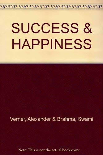 9780852431573: How to Know Your Future and Success and Happiness