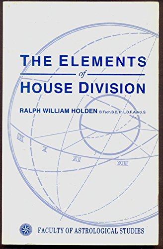 9780852433546: Elements of House Division
