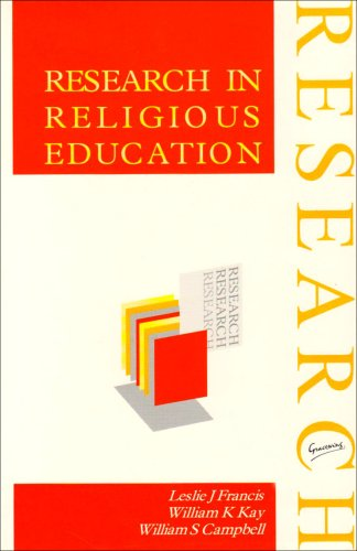 9780852443422: Research in Religious Education