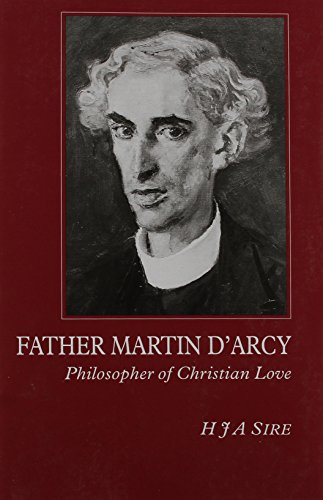 9780852444399: Father Martin D'Arcy: Philosopher of Christian Love