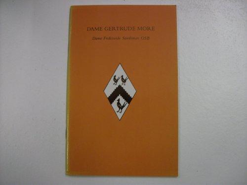 9780852444405: Dame Gertrude More